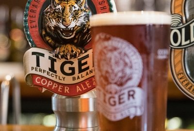 Pint of Everards Tiger