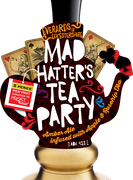 Mad hatters tea party pump handle