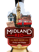 Midland red pump handle